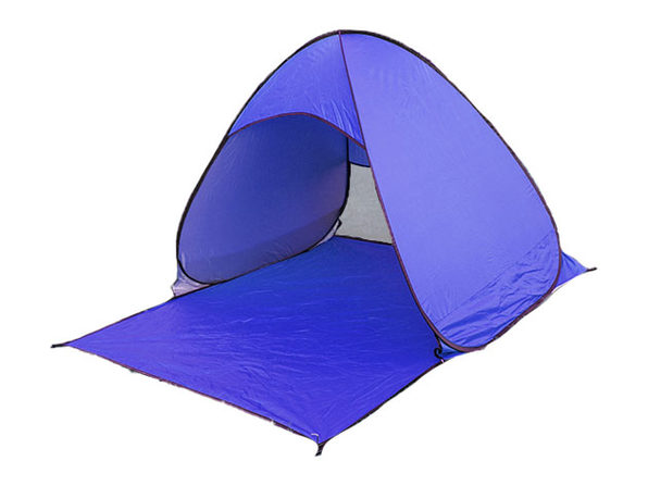 Pop-Up Beach Tent with UV 50+ Protection (Purple)