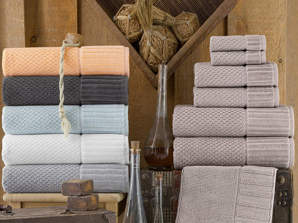 Timaru Turkish Towels 6-Piece Set (White)