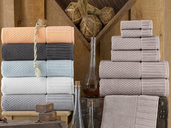 Timaru Turkish Towels 6-Piece Set (White)