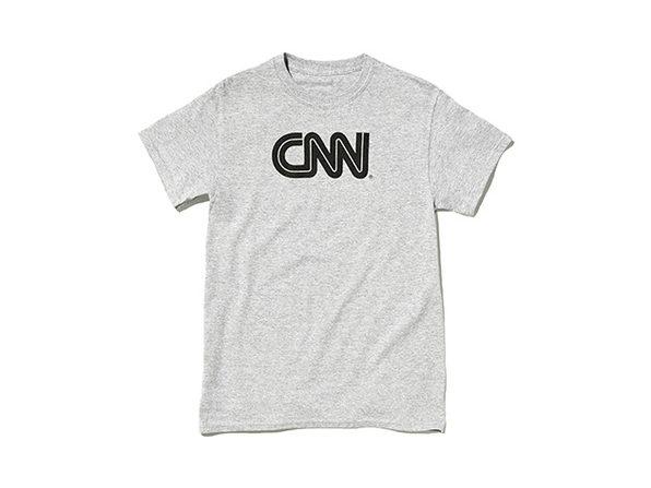 CNN Promo Tee  Ash