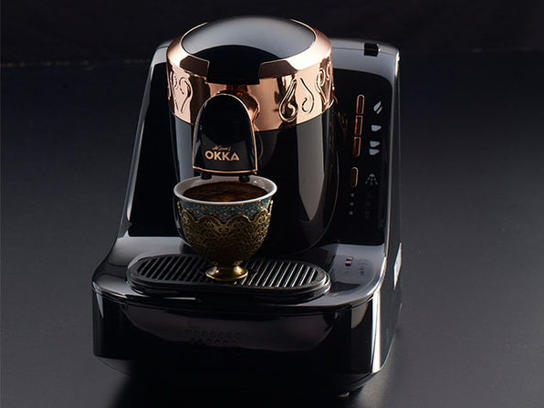 Arzum Okka Automatic 120V Turkish Coffee Maker (Black/Gold)