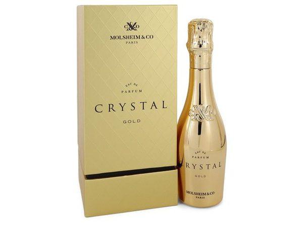Crystal Gold by Molsheim & Co Eau De Parfum Spray 3.4 oz - Product Image