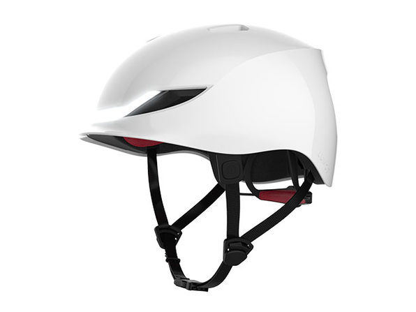 Lumos Smart LED Helmet (Matrix/Jet White)