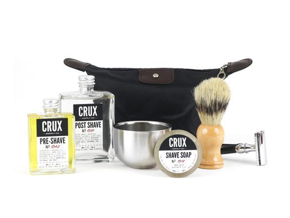 Deluxe Shaving + Razor Set