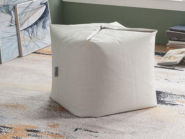 A bean bag chair.