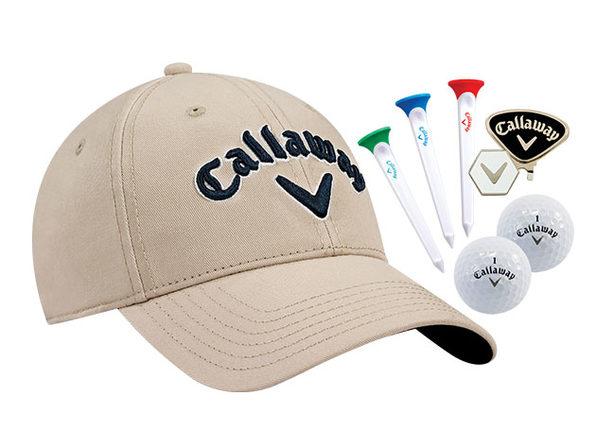 Callaway Tour Set: Hat, Clip, Par-Tees & Balls