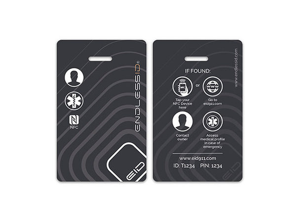 EndlessID® Smart Luggage & Backpack Tag