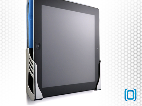 Koala iPad and Tablet Wall Mount (Chrome) - Product Image