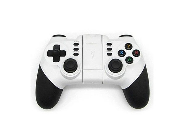Dragon X5 Wireless Bluetooth Mobile Phone Gaming Controller - White - Product Image