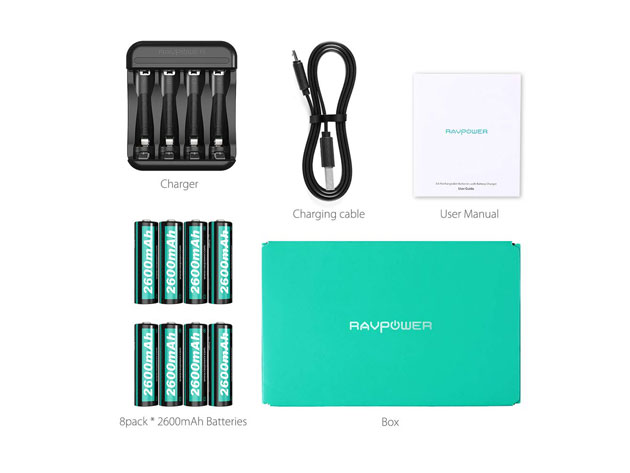 Get everything seen here plus the peace of mind of never running out of batteries for just $21