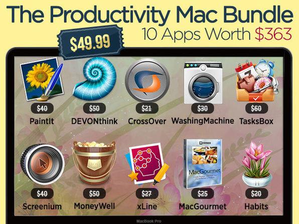 The Mac Productivity Bundle 7.0 - Product Image
