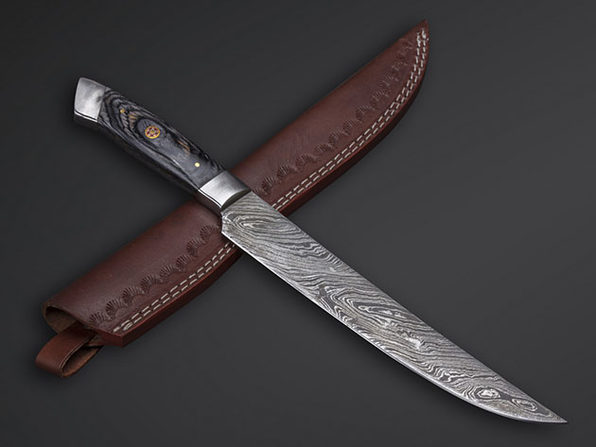 Damascus Fillet Knife // 08
