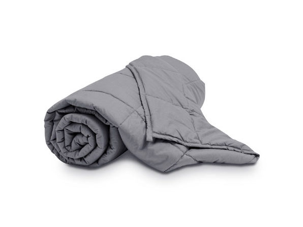 Puro Down Dark Gray Weighted Blanket