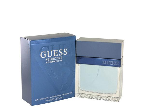 Guess Seductive Homme Blue by Guess Eau De Toilette Spray 3.4 oz for Men (Package of 2)