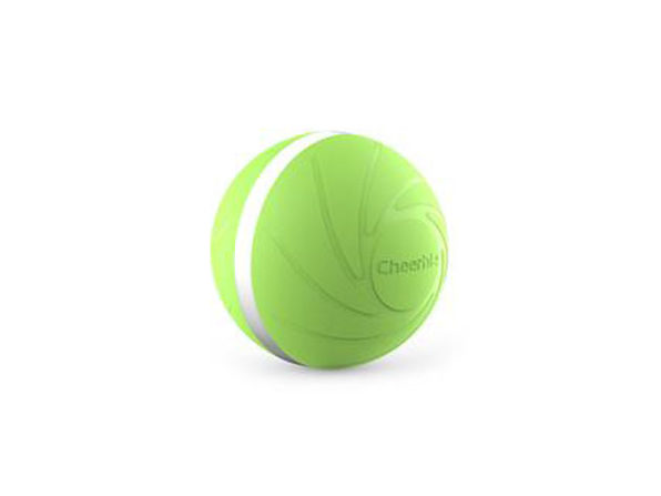 Wicked Ball: Interactive Dog Toy (Green)