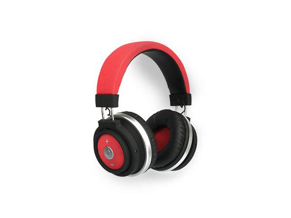 Urge Basics M1 Over-Ear Bluetooth Headphones (Red) - Product Image
