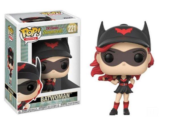 Funko Pop! DC Comics Bombshells Batwoman Vinyl Figure #221 - Product Image