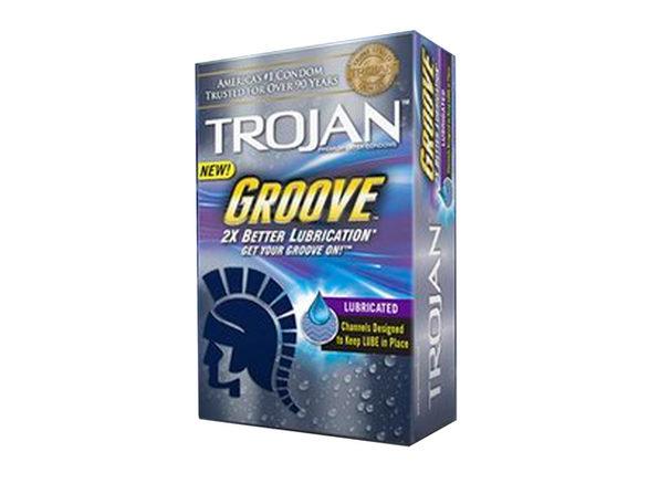 Trojan Groove Condoms 10pk ---(Package Of 2)