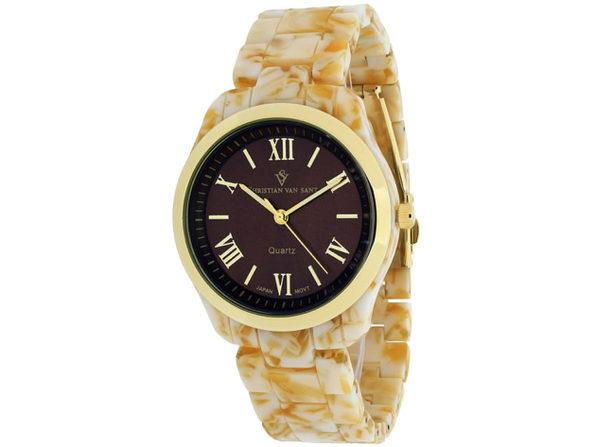 Christian Van Sant Women's Granite Brown Dial Watch - CV3412 - Product Image