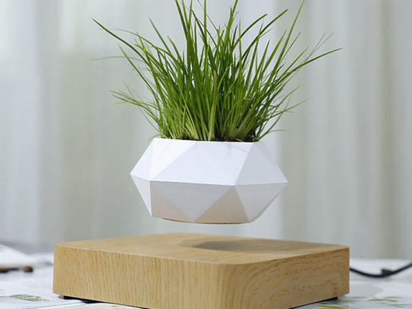 Airsai Floating Bonsai Plant Pot Geometric Design Stacksocial