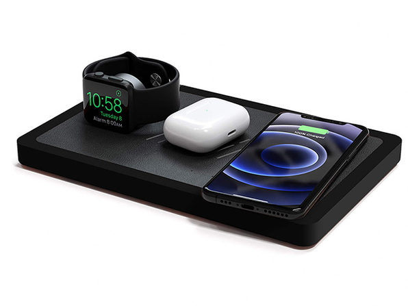 TRIO Wireless Charging Station (Black Top/Black Base)