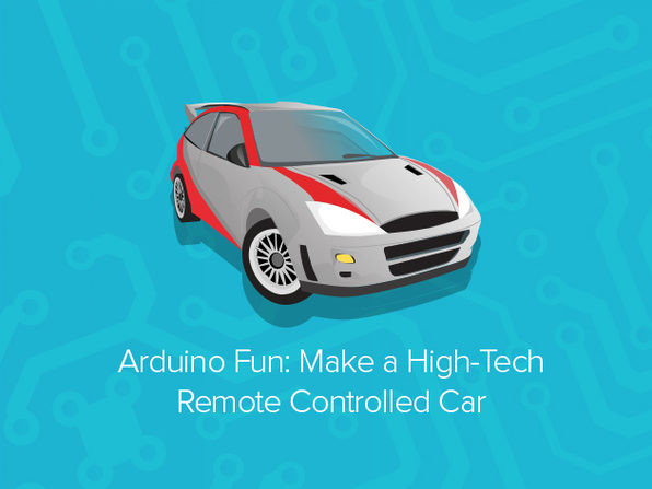 Arduino 'Make a Remote-Controlled Car' Course - Product Image