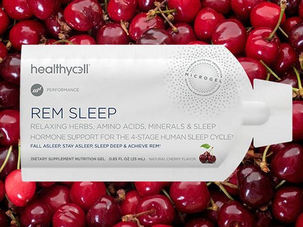 REM Sleep Liquid Gel Dietary Supplement