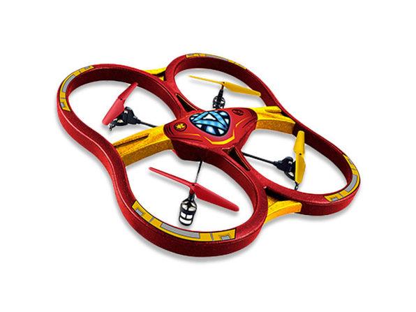 Marvel Licensed Iron-Man RC Super Drone