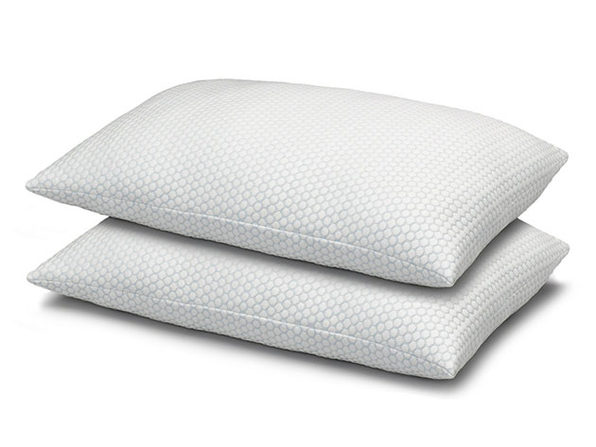 Cool N' Comfort Gel Fiber Pillow with CoolMax Technology: 2-Pack (King)