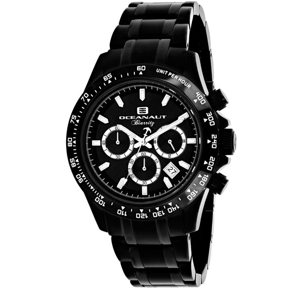 Oceanaut Men's Biarritz Black Dial Watch - OC6114