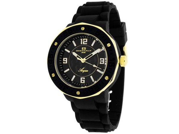 Oceanaut Women's Acqua Black Dial Watch - OC0214