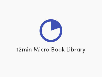 12min Micro Book Library: Lifetime Premium Subscription