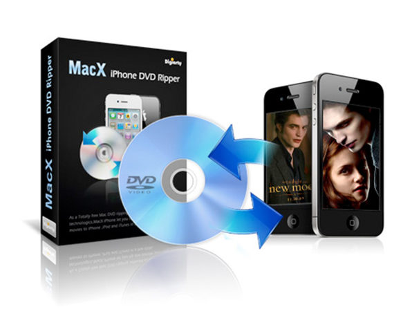 MacX iPhone DVD Ripper - Product Image