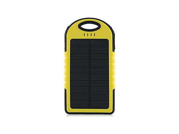 Universal Waterproof Solar Charger (Yellow)