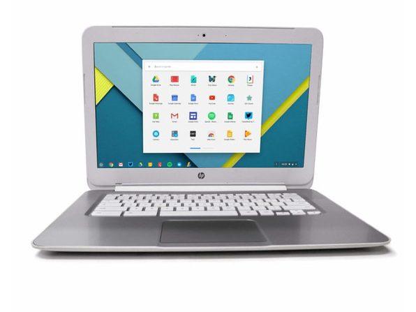 """HP Chromebook F7W49UA 14"""" Laptop, 1.4GHz Intel Celeron, 4GB RAM, 16GB SSD, Chrome (Renewed)"""
