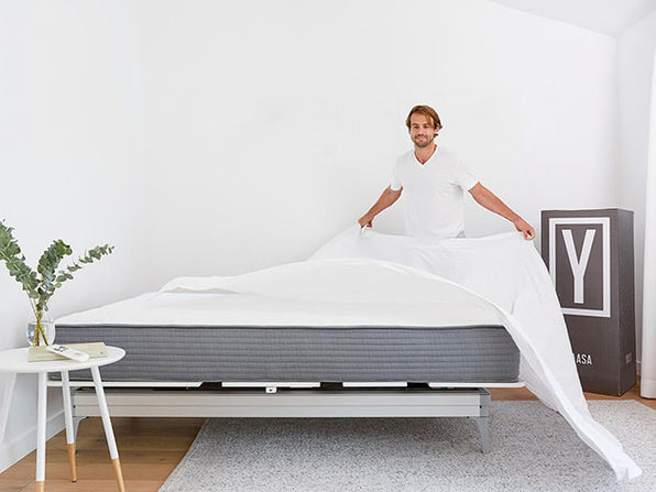 Yaasa® White Bamboo Sheet Set (Cal King)