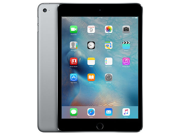 "Apple Mini 4 7.9"" 128GB - Space Gray (Refurbished: Wi-Fi Only)"