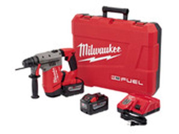 "Milwaukee 2715-22HD M18 FUELâ""¢ 1-1/8"" SDS Plus Rotary Hammer Kit"