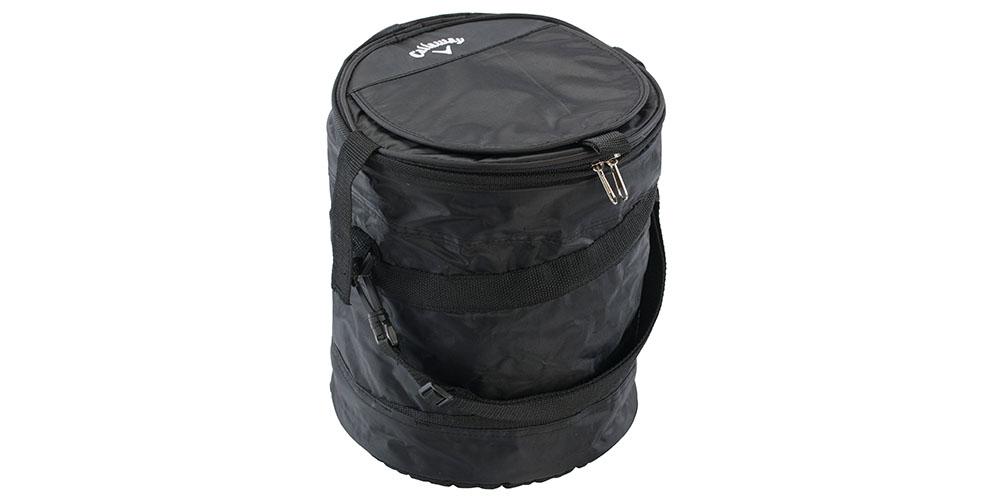 A black Callaway cooler bag.