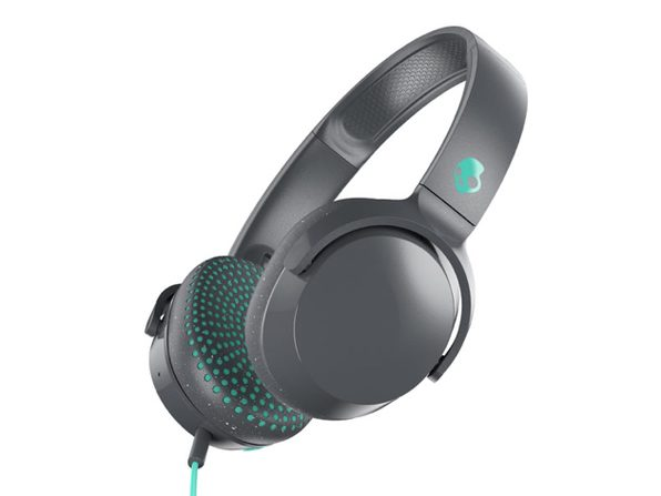 Skullcandy Riff On-Ear Durable Headphone - Gray/Miami