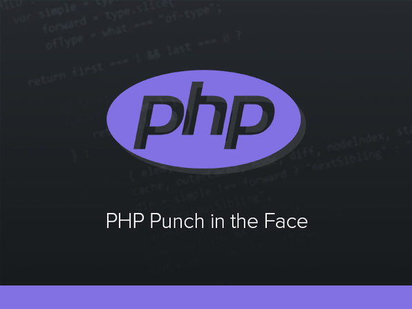 PHP 'Punch in the Face' Course - Product Image