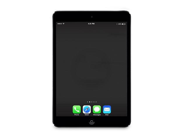 """Apple iPad Mini 2 7.9"""" 128GB WiFi Space Gray (Certified Refurbished)"""