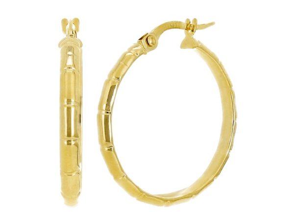 Christian Van Sant Italian 14k Yellow Gold Earrings CVE9H96