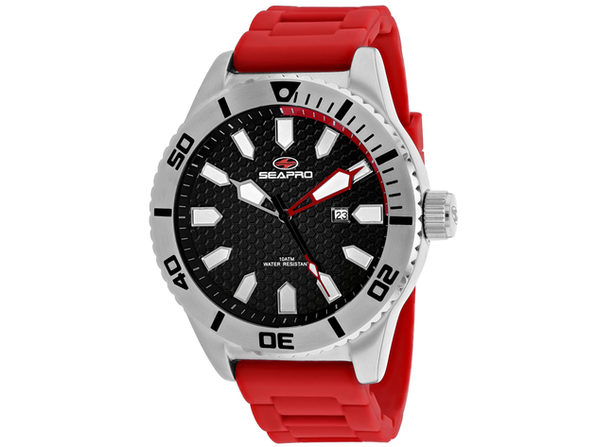 Seapro Men's Brigade Black Dial Watch - SP1311