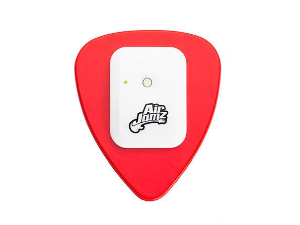 AirJamz Bluetooth Air Pick & Music Toy (Red)