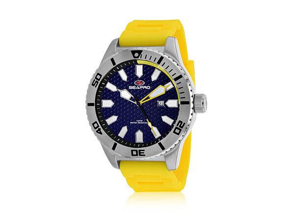 Seapro Men's Brigade Watch (Blue/Yellow)