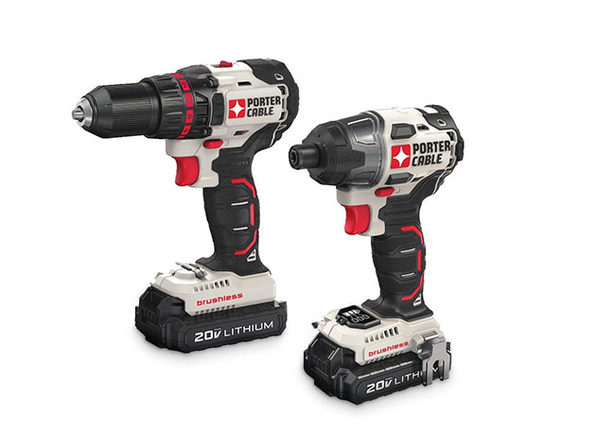 Porter-Cable 20V MAX Drill and Impact Driver Combo Kit