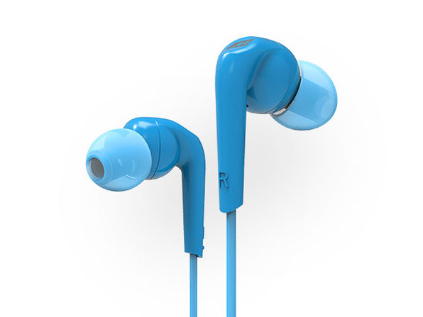 RX18P Comfort-Fit In-Ear Headphones (Blue)
