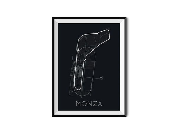 "Full-Throttle Formula 1 Monza Poster (18"" x 24"")"