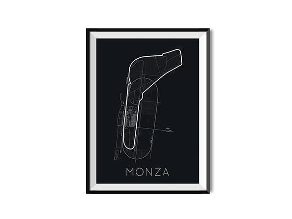 "Full-Throttle Formula 1 Monza Poster (18"" x 24"")"